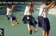 Kids Who Risk Their Lives Going To School